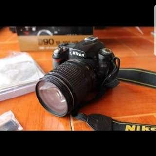 NIKON D90 (RUSH)
