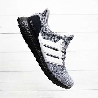 Adidas Ultra Boost 4.0 Oreo / Cookies And Cream
