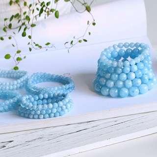 海藍寳項鍊 手鏈 手串 200-260元