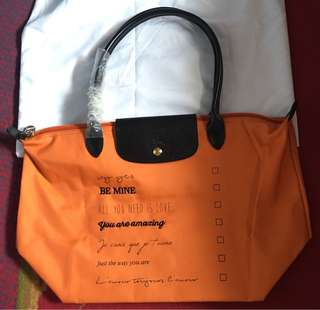 Super Sale!!!Authentic longchamp medium long handle