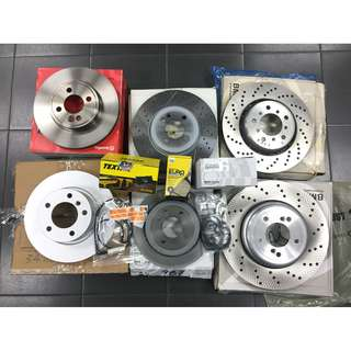 Mini Cooper R50 R52 R53 R55 R56 R57 R58 R59 R60 R61 F54 F55 F56 F57 F60 Brake Disc Rotor