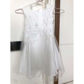 BRAND NEW MONSOON KIDS BRIDAL COLLECTION WHITE DRESS ORIGINAL RETAIL PRICED HKD$800