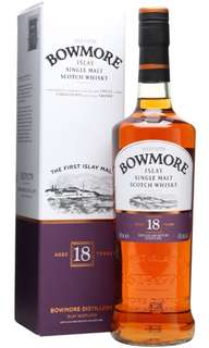 Brand new 700ml Bowmore 18 Single Malt Islay Whisky