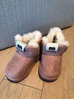 全新毛毛鞋 粉紅色