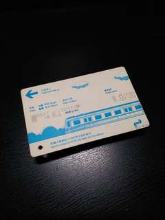KCRC testing paper ticket