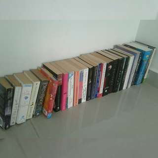 English Book's Bargains @rm100 4all / 5$ each