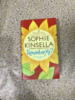 Sophie Kinsella: Remember Me?
