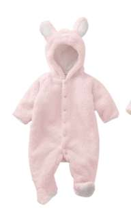 Winter Cotton Baby Romper Long Sleeve Jumpsuit 0-6 Month