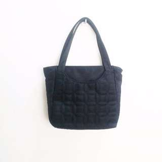🚚 🎈三件免運 日本古著 黑色手提包