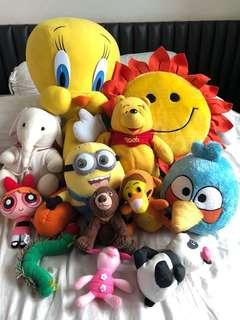 Soft Toys -12 pcs