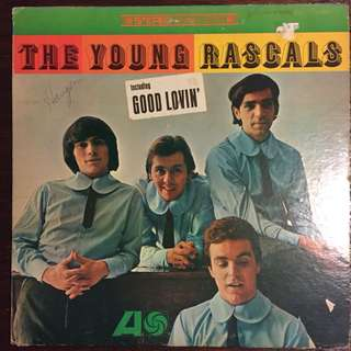 The Young Rascals -S/T (1966) US ORG Sunshine Pop Psych LP Record Vinyl