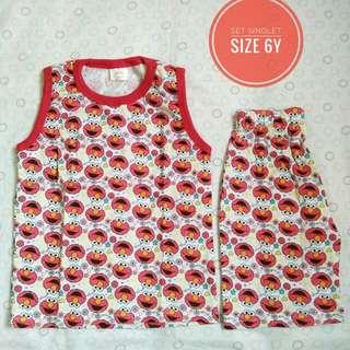 Pyjamas set elmo (brand new)