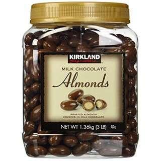 Kirkland Milk Chocolate Almond