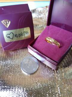 916 Gold Ring Size 13 or 15