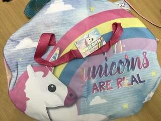 Unicorn bolster bag