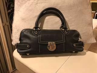 💯% Authentic Marc Jacobs Calf Leather Blake Bullet Satchel