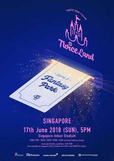 [WTS] Twice Twiceland: Fantasy Park VIP Ticket
