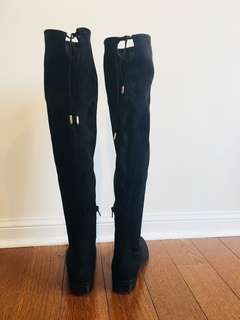 Over the knee Ivanka Trump boots (size 6.5)