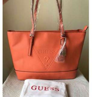 💯AUTHENTIC GUESS tote Bag
