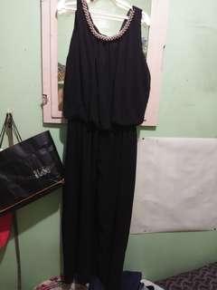 Black long gown / long dress / formal dress