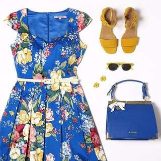 EXCELLENT CONDITION: Review Floral Symphony Dress (Size 10)