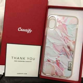 (100% new) ❤️ Casetify iPhone X Case #2 高度防跌機殼