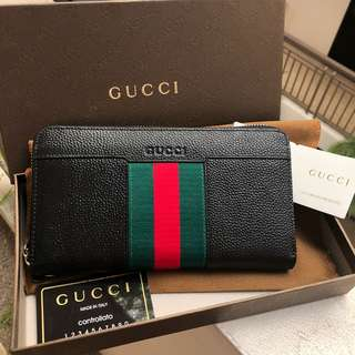 GUCCI CHEQUE BOOK WALLET