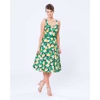 EXCELLENT CONDITION: Review Lemon Fizz Dress (Size 8)