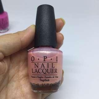 Nail polish OPI: princesses rule!