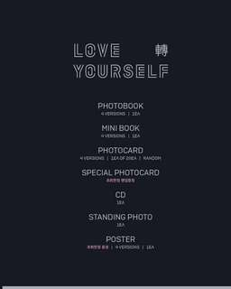 BTS LOVE YOURSELF: TEAR
