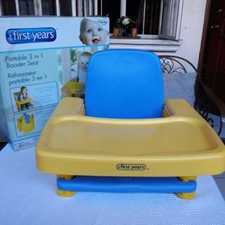The First Years 3 in 1 Portable Booster Seat