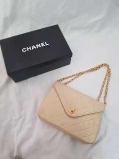 Chanel beige flap