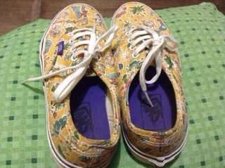 preloved vans alice in wonderland shoes
