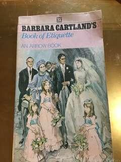 Barbara Cartland's Book of Etiquette