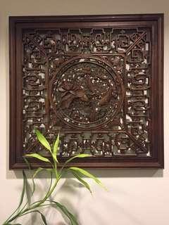 二十年古典木雕