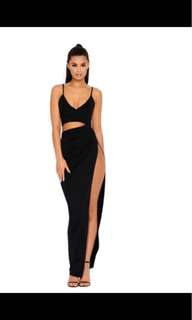 Ohpolly cut out dress + slit
