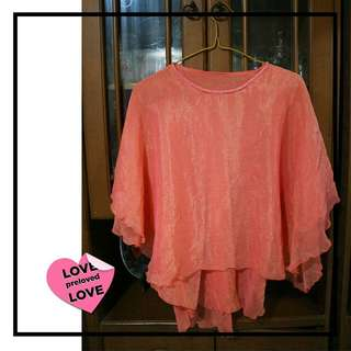 Blouse PEACH | size : All Size