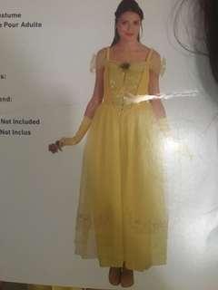 Belle adult costume