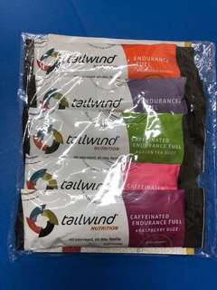 Tailwind Nutrition 運動營養產品連頭巾套裝