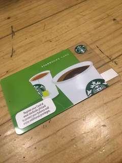 Starbucks card - Coffee or Tea