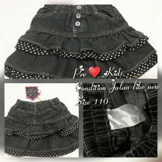 Kids Jeans Skirt