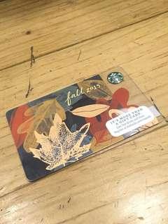 Starbucks card - US Card Fall 2015