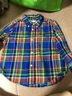 Authentic Ralph Lauren Shirt 18m