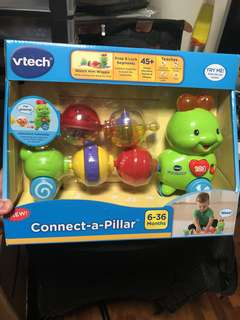 *instock* VTech Connect-a-Pillar caterpillar
