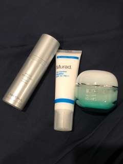 $30 for all 3 Moisturizers Arcona Murad Biotherm