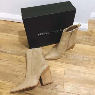 Kendall + Kylie Fallyn Suede Pointed Boots