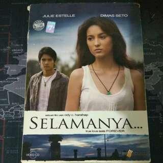 VCD ORIGINAL FILM SELAMANYA JULIE ESTELLE DIMAS SETO 2007