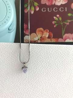 Violet Diamond Necklace