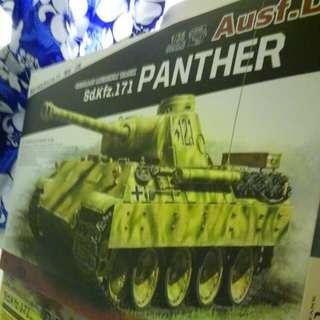 全新坦克模型