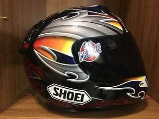 🚚 SHOEI X11 KALLIO 蠍子 限量選手帽